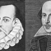 Cervantes y Shakespeare dos genios en el retablo