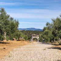 Visita al yacimiento romano de Caparra